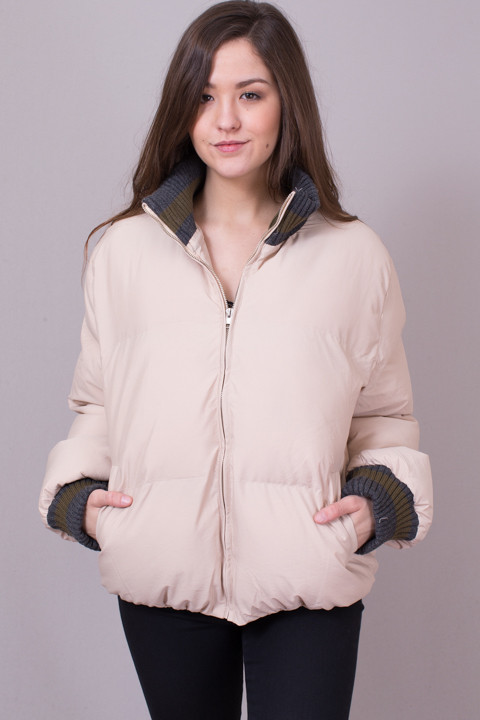 POL Blush Puffer Jacket