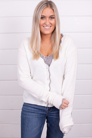 Savanna Jane Pearl Cardigan