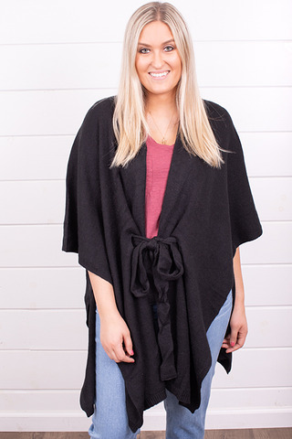 Three Bird Nest Jaylene Sweater Wrap Kimono