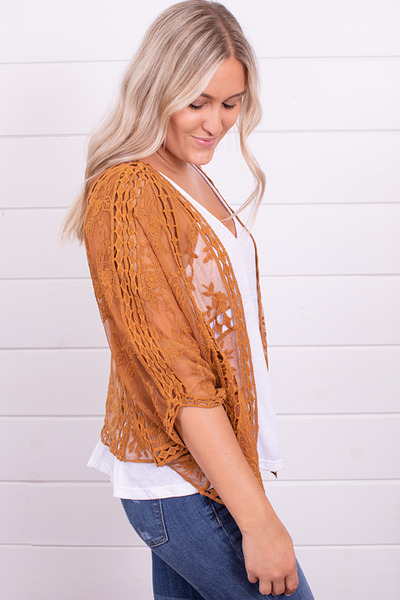 Wishlist Apparel Fields Of Gold Bolero 2