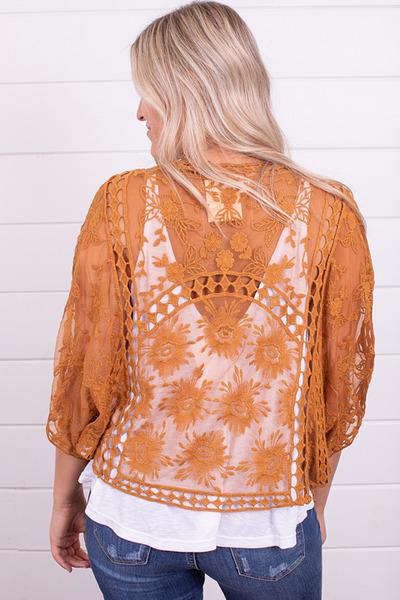 Wishlist Apparel Fields Of Gold Bolero 3