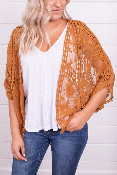 Wishlist Apparel Fields Of Gold Bolero 4