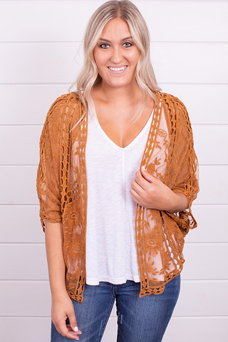 Wishlist Apparel Fields Of Gold Bolero