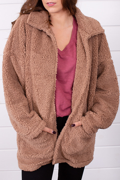 Z Supply The Sherpa Teddy Bear Coat 3
