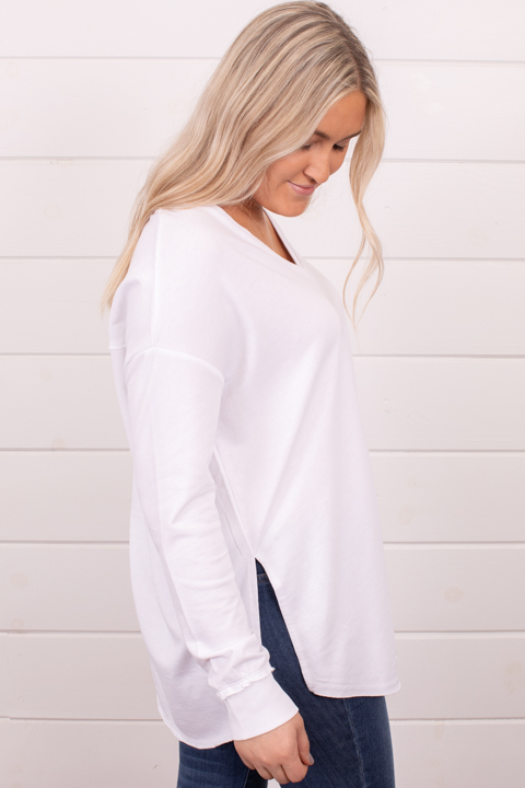 Z Supply Rebel Slub Henley White 4