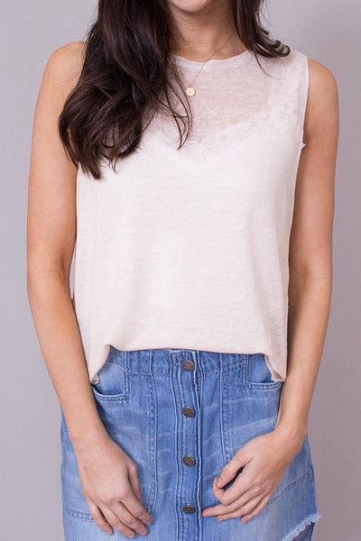 Bella Dahl Side Slit Tank 3