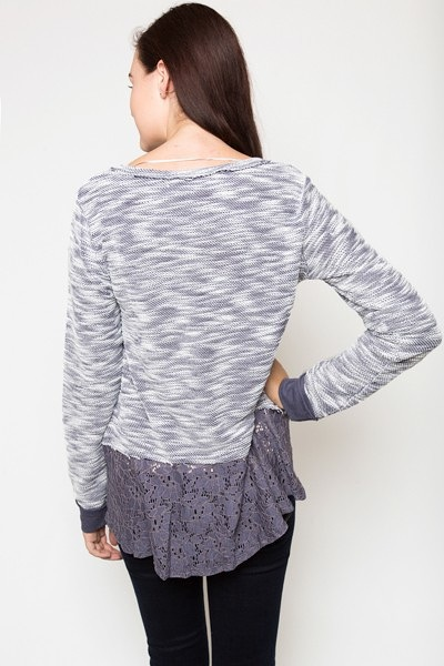 Mystree Pleasantly Purple Pullover 2