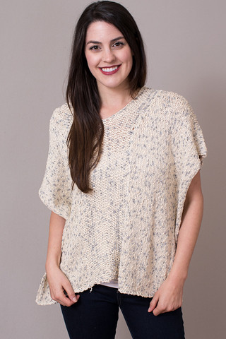 Mystree Poncho Pullover
