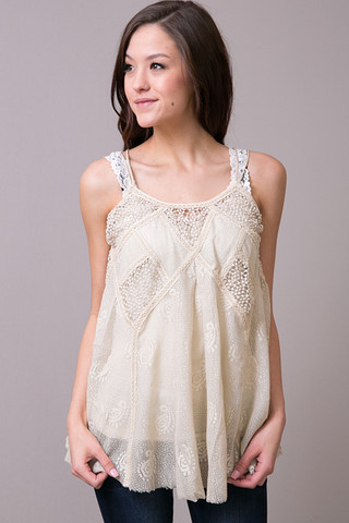Raga Lace With Romance Tank
