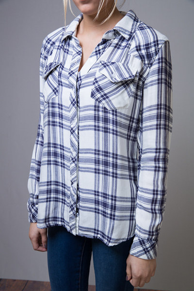 Rails Kendra White Button Down 3