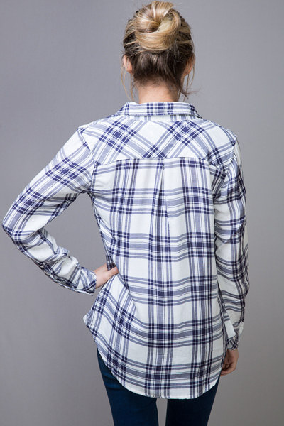 Rails Kendra White Button Down 2