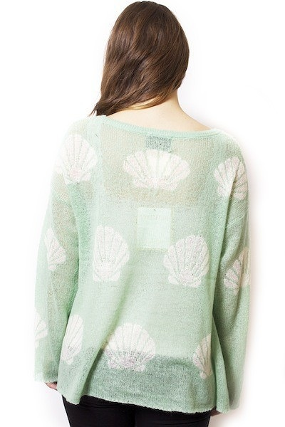 WILDFOX Couture Shell Baby Roadie Sweater 3