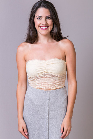 Winter Lennon Lace Bandeau