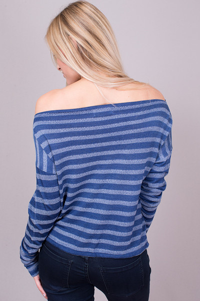 Bella Dahl Off The Shoulder Tie Front Top 3