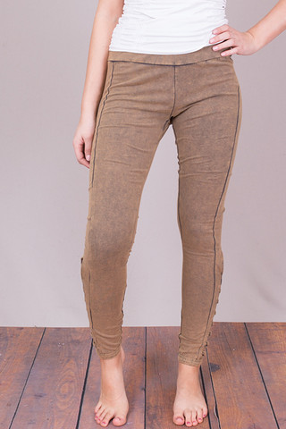Entro Olive Lace Up Legging