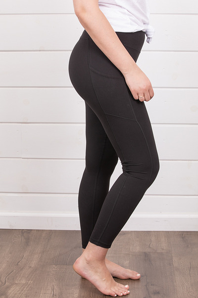 Rae Mode Butter Legging Black 2
