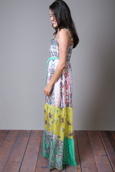 Johnny Was Collection Square Neck Maxi Dress 2