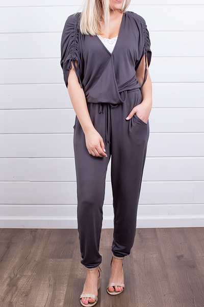 Lovestitch Britt Wrap Jumpsuit 4