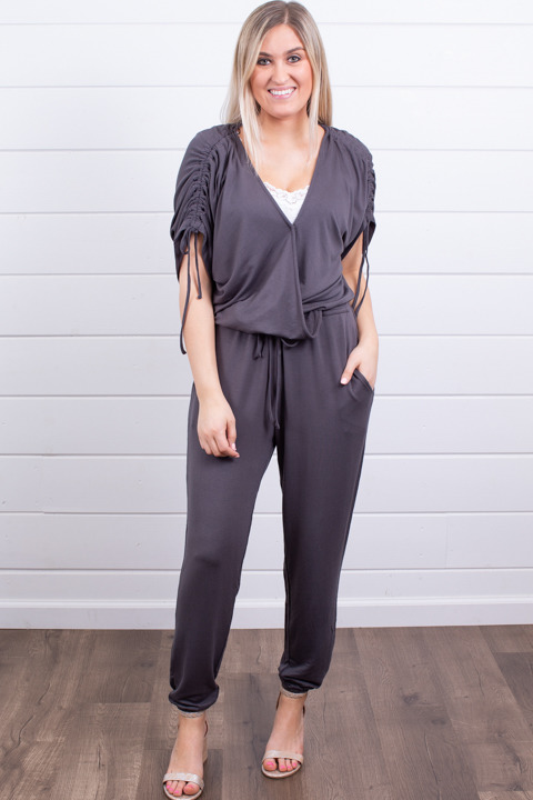Lovestitch Britt Wrap Jumpsuit