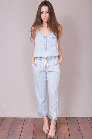 Lovestitch Denim Jumpsuit