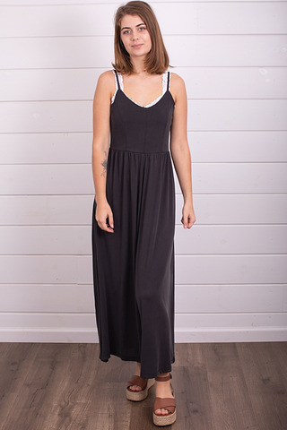Mystree Black Modal Jumpsuit