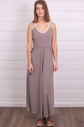 Mystree Grey Modal Jumpsuit