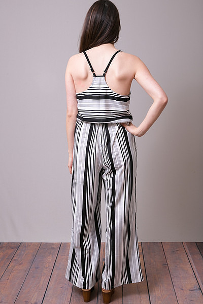 Mystree Stripe Romper 4