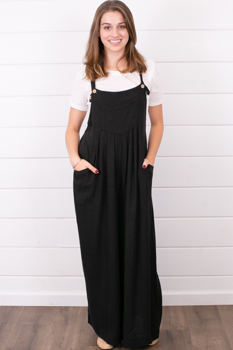 Wishlist Apparel Flare Overalls
