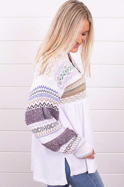 Free People Cozy Cottage Sweater 3