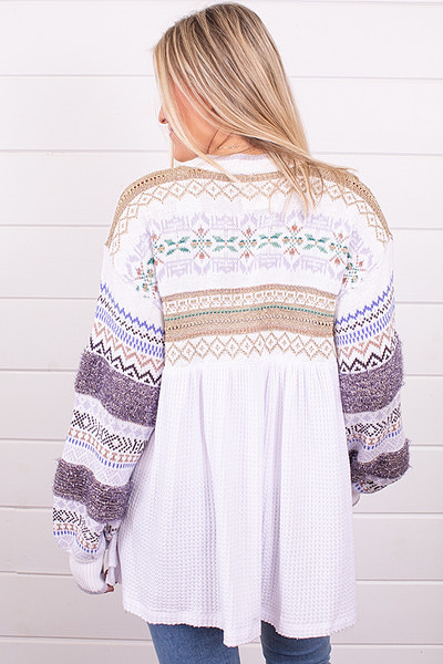 Free People Cozy Cottage Sweater 4