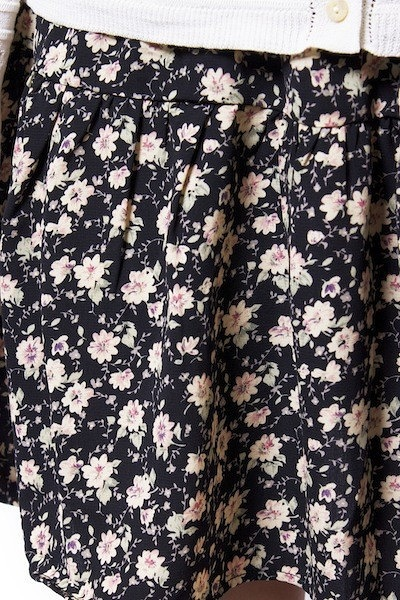 Blu Pepper Floral Flip Skirt 4