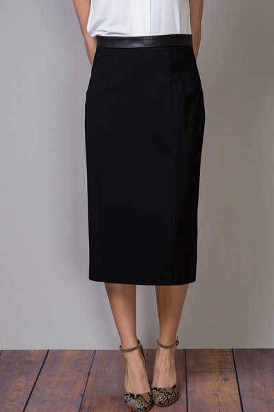 Heather by Bordeaux Pencil Skirt 4