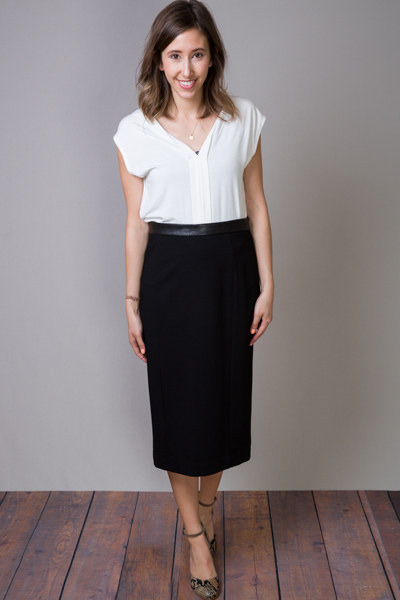 Heather by Bordeaux Pencil Skirt