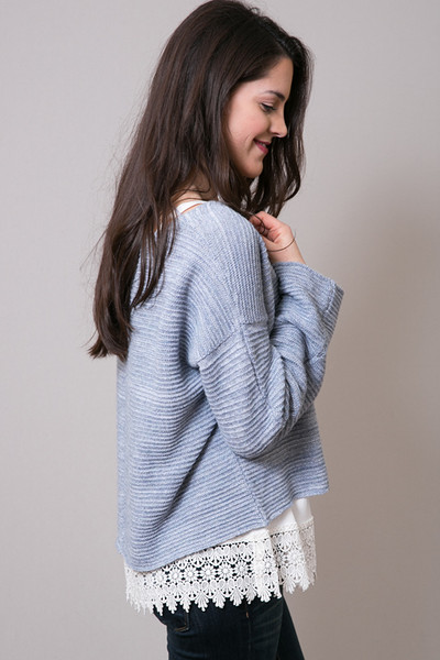 Free People Ever Cozy Pullover 4