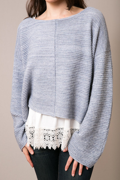 Free People Ever Cozy Pullover 3