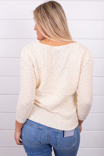 Knot Sisters Genie Sweater Natural 4