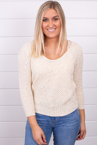 Knot Sisters Genie Sweater Natural