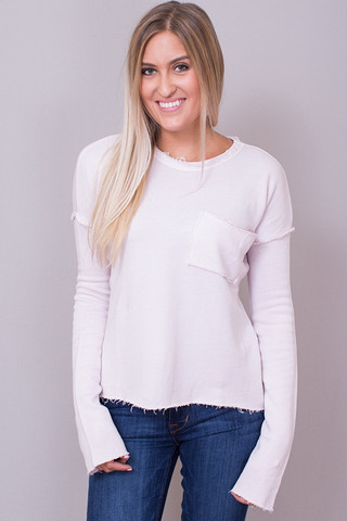Knot Sisters Natalia Top Dusty Pink
