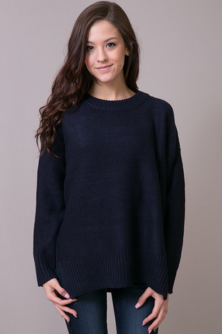 Knot Sisters Nielson Sweater Deep Navy
