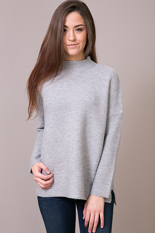 Knot Sisters Scotland Sweater Grey