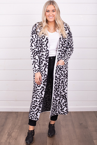 Snow Leopard Duster