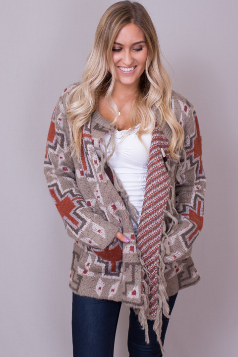 MM Vintage Draped Front Cardi
