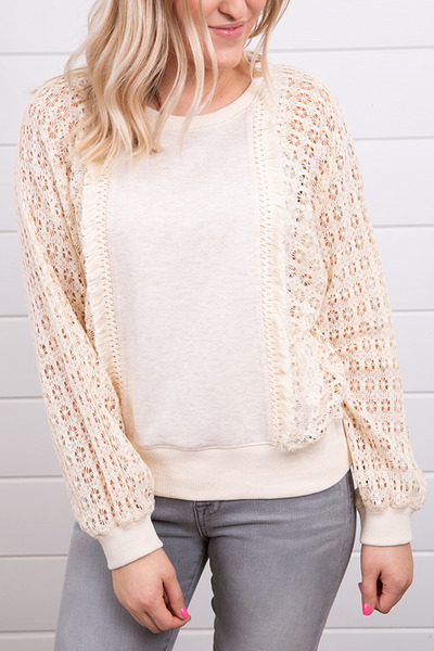 Mystree French Terry Sweater 5