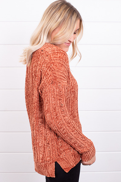 Mystree Pumpkin Spice Sweater 2