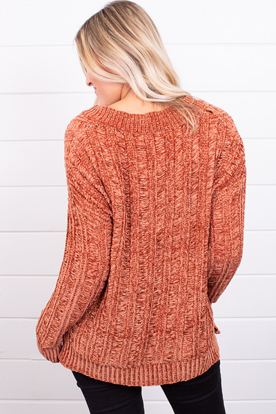 Mystree Pumpkin Spice Sweater 4