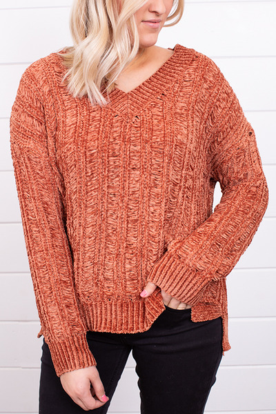Mystree Pumpkin Spice Sweater 3