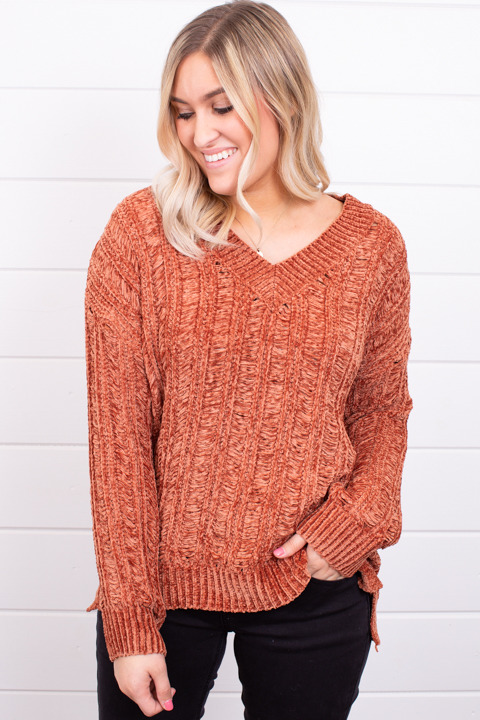 Mystree Pumpkin Spice Sweater
