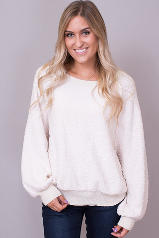 Umgee Snow Bunny Sweater