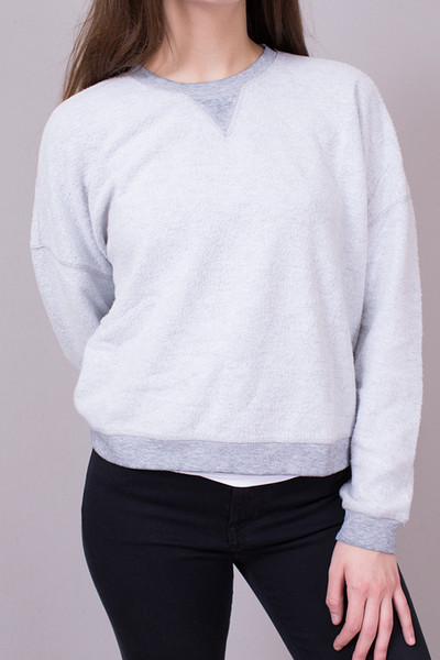 Z Supply The Fleece Cropped Pullover 3