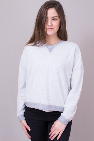 Z Supply The Fleece Cropped Pullover
